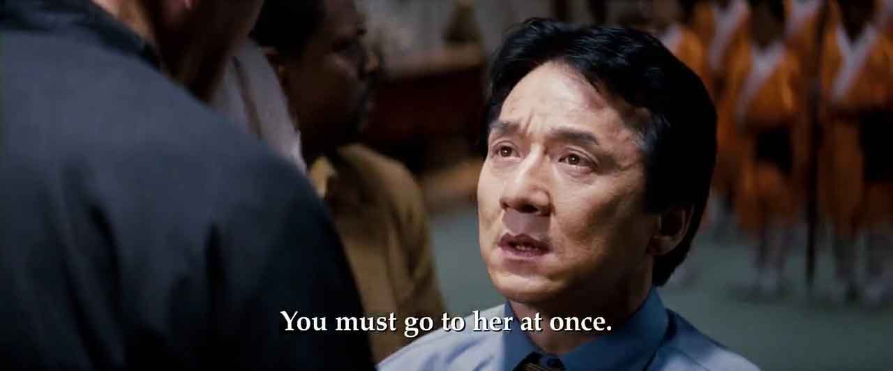 Screen Shot Of Hollywood Movie Rush Hour 3 (2007) In Hindi English Full Movie Free Download And Watch Online at worldfree4u.com
