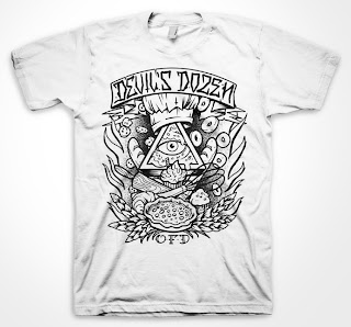 "Oven Fresh Dreams x Gabriel Gozzer Collaborate & Dream T-Shirt ""Devil's Dozen"""