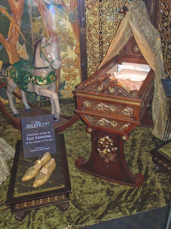 Princess Aurora Maleficent movie props