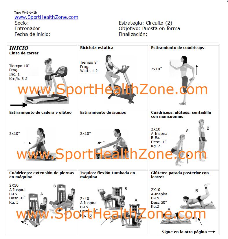 entrenamiento fitness noviembre 2012