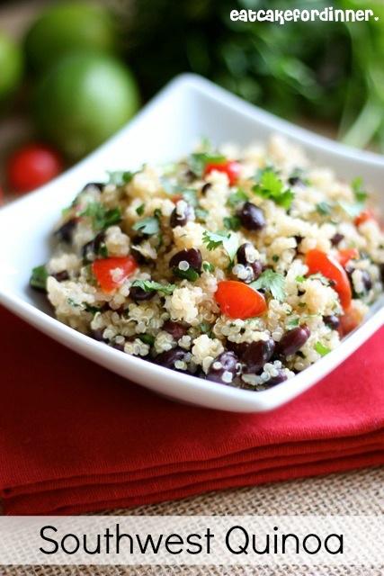 Eat Cake For Dinner: Southwest Quinoa Salad