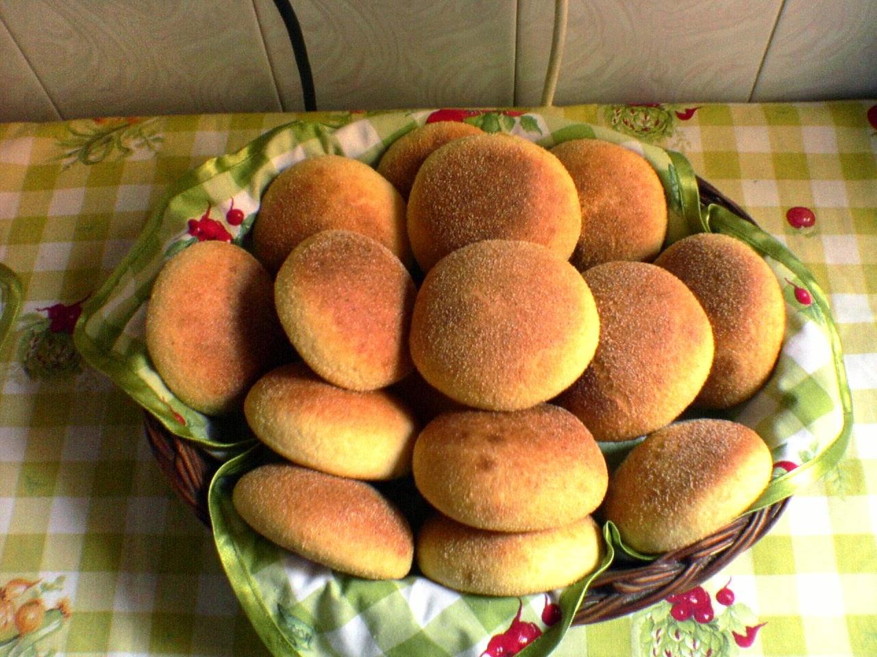 خبز الزبدة الشهي
