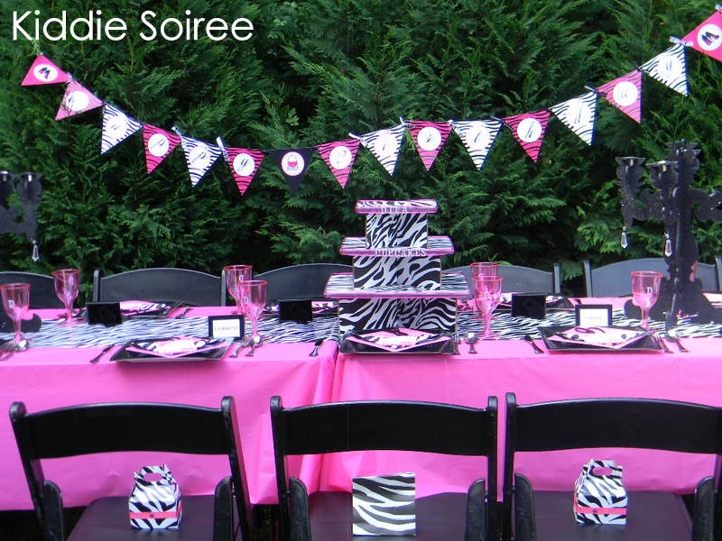PINK DIVALICIOUSNESS Diva Party Revamped Kiddie Soiree