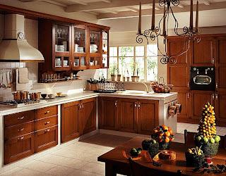 cozinha decoração rústica