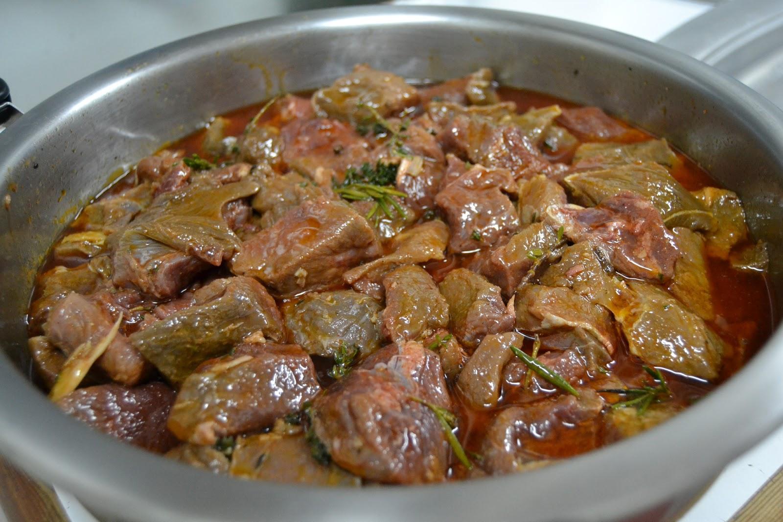 receta jabali guisado
