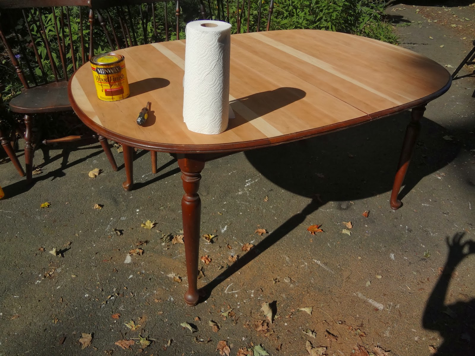ethan allen dining tables. Before- But Freshly Sanded Ethan Allen Dining Tables