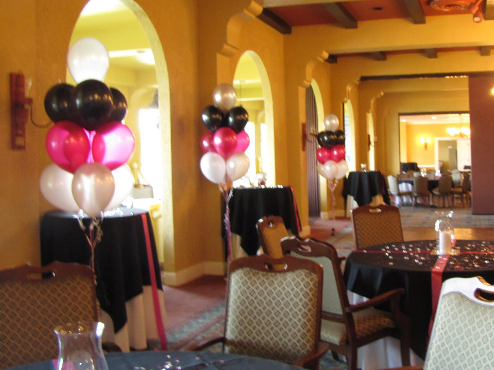 Party people event decorating company april 2011 for 70th birthday party decoration ideas