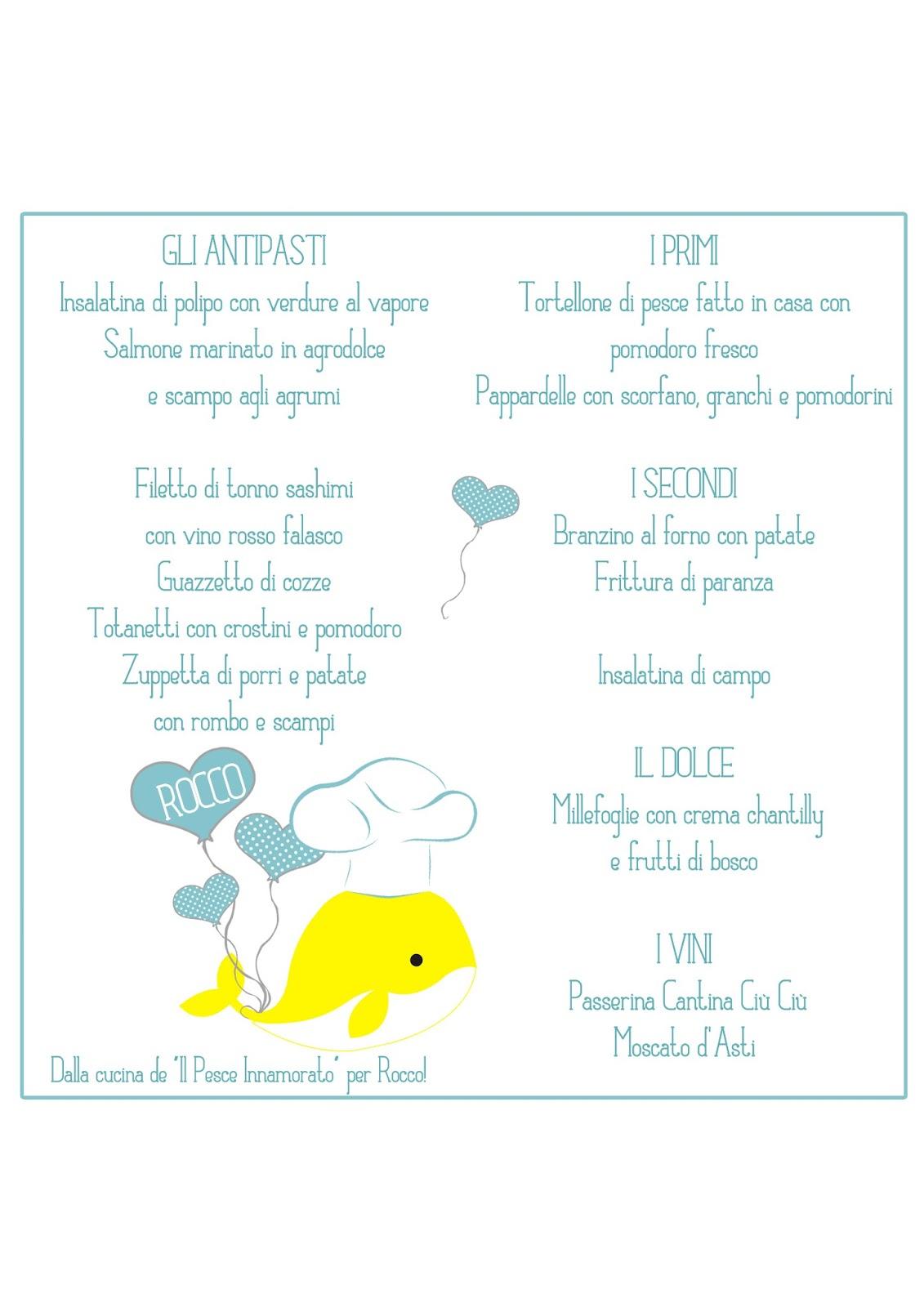 Eccezionale Gli eventi di Claudia confetti & co: Il battesimo di un pesciolino  NT05