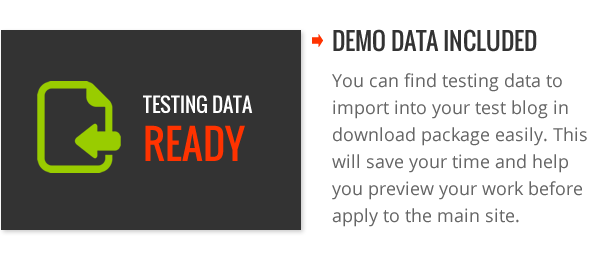 Demo Data Ready - SpotCommerce Blogger Shopping Template