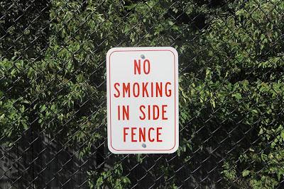 Beth Pancoe Pool,sign,no smoking,Bangor,Maine