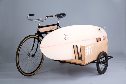 Sidecar Bicycle with Board Rack