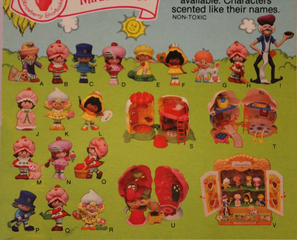 Diary of a Dorkette Toy Chest Tuesday Strawberry Shortcake Minis