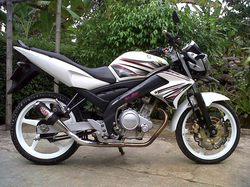 Foto Modifikasi Yamaha Vixion title=