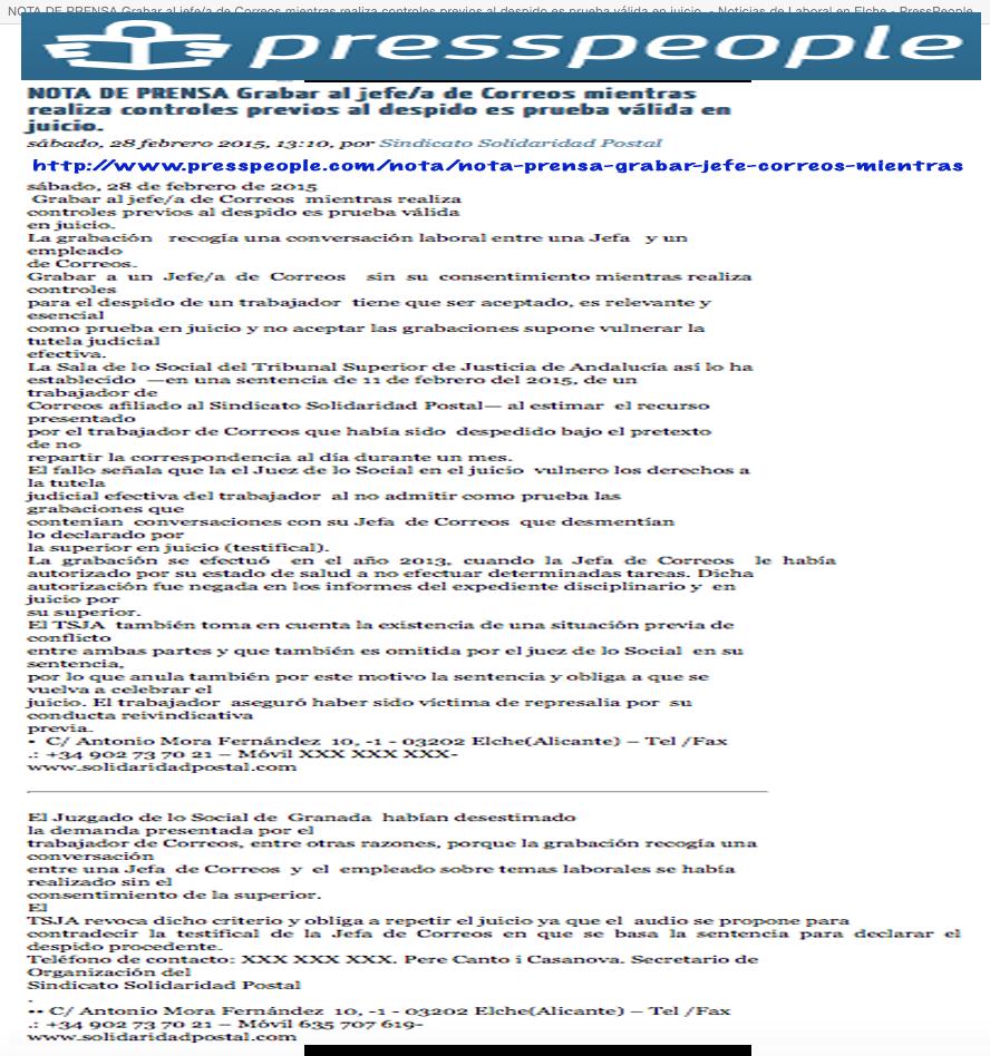 28/02/2015-PressPeople.Com
