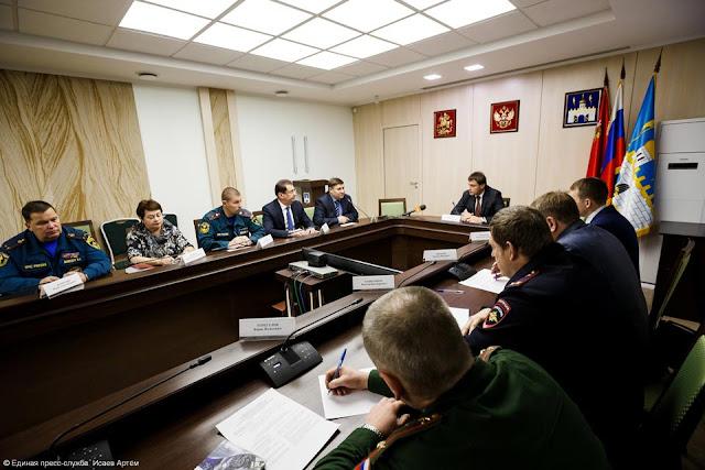 В связи с этим все структуры Сергиево-Посадского района, отвечающие за безопасность, переведены на режим особой бдительности.