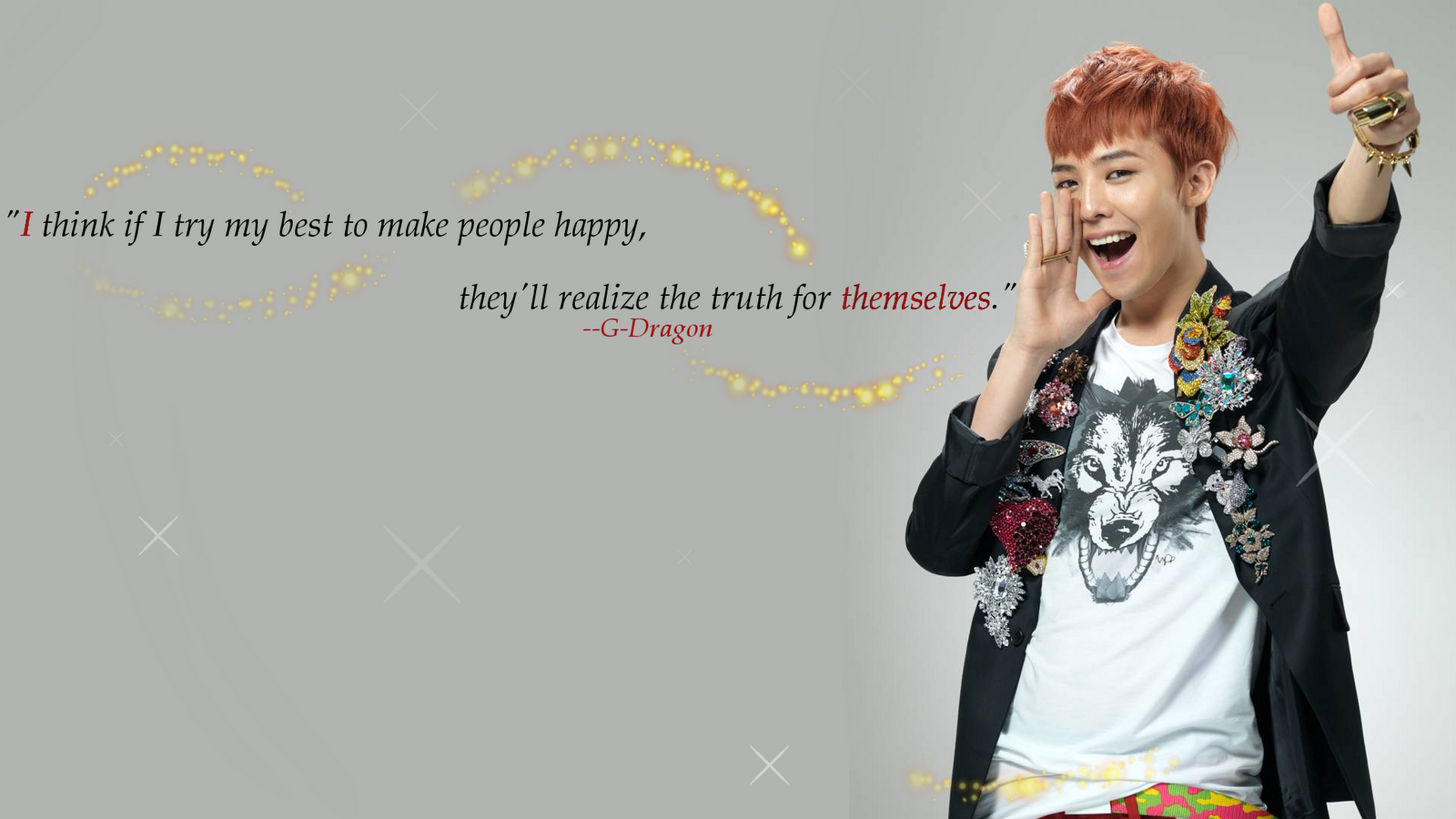 Pop Wallpapers: GDragon Wallpaper