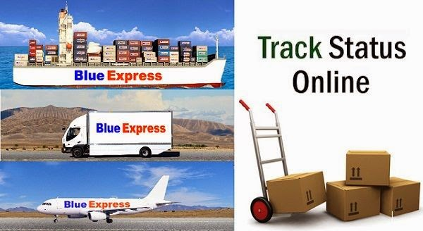 Blue Express online Tracking
