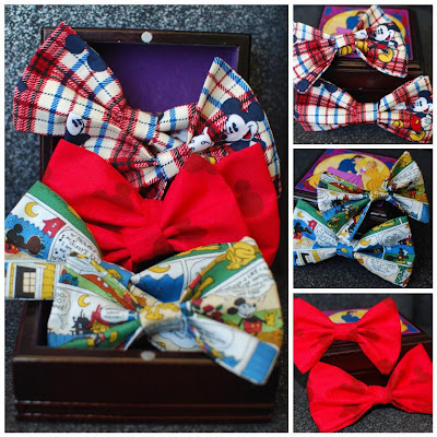 Blogiversary Giveaway #3 - Disney Hairbow and Bowtie Set from Simply Pinspirational