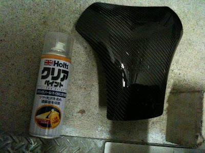 CLEVERWOLF・クレバーウルフ・タンクプロテクター・カーボン綾織り