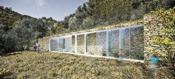Arquitetura e empreendedorismo casa e meio ambiente for Architecture qui se fond dans le paysage