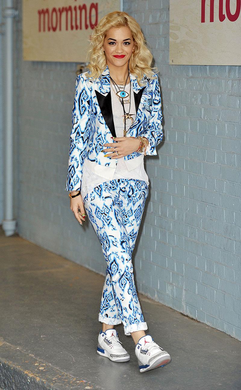 Rita Oraが履いていた スニーカー特集 は→ コチラ