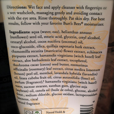 Burt's Bees Soap Bark & Chamomile Deep Cleansing Cream: Mouthwash For Your Face