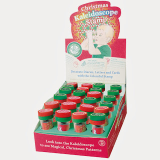 Christmas Kaleidoscope Rubber Stamps