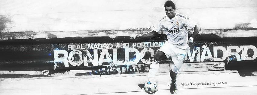 Ronaldo | Portadas de Real Madrid | Flix Portadas para Facebook