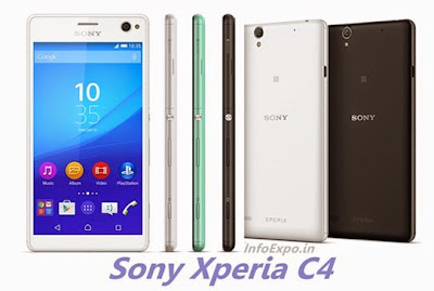 Sony Xperia C4: 5.5 inch,1.7 GHz Octa-core, Android Lollipop Phone Specs, Price