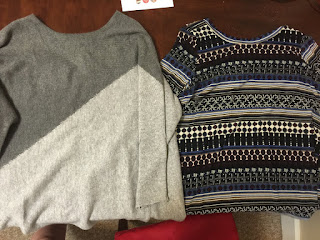Papermoon Alfonzo Woven Split Back Knit Top Stitch Fix Market and Spruce Nina Asymmetrical Sweater Tunic Stitch Fix