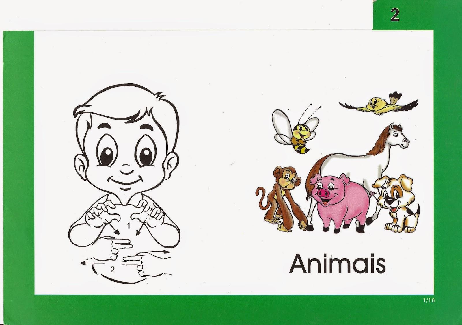Libras Ensine Suas Mãos A Falar: Animais em Libras #219238 1600 1125