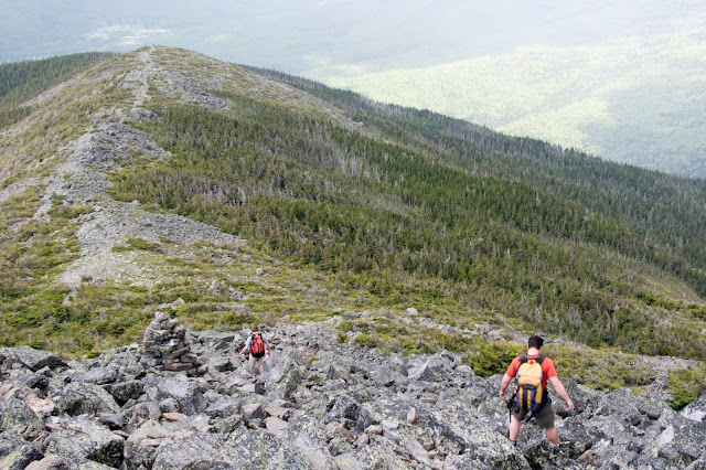 The Osgood Trail on Mt. Madison in the Presidential Range