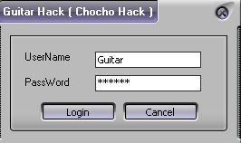 Cheat Guitar Hack v.6096 By Chocho Hack Spark Guitar x500         : F3 Spark Guitar x1000         : F4 Spark Guitar x5000         : F5 Flame Out   : Delete
