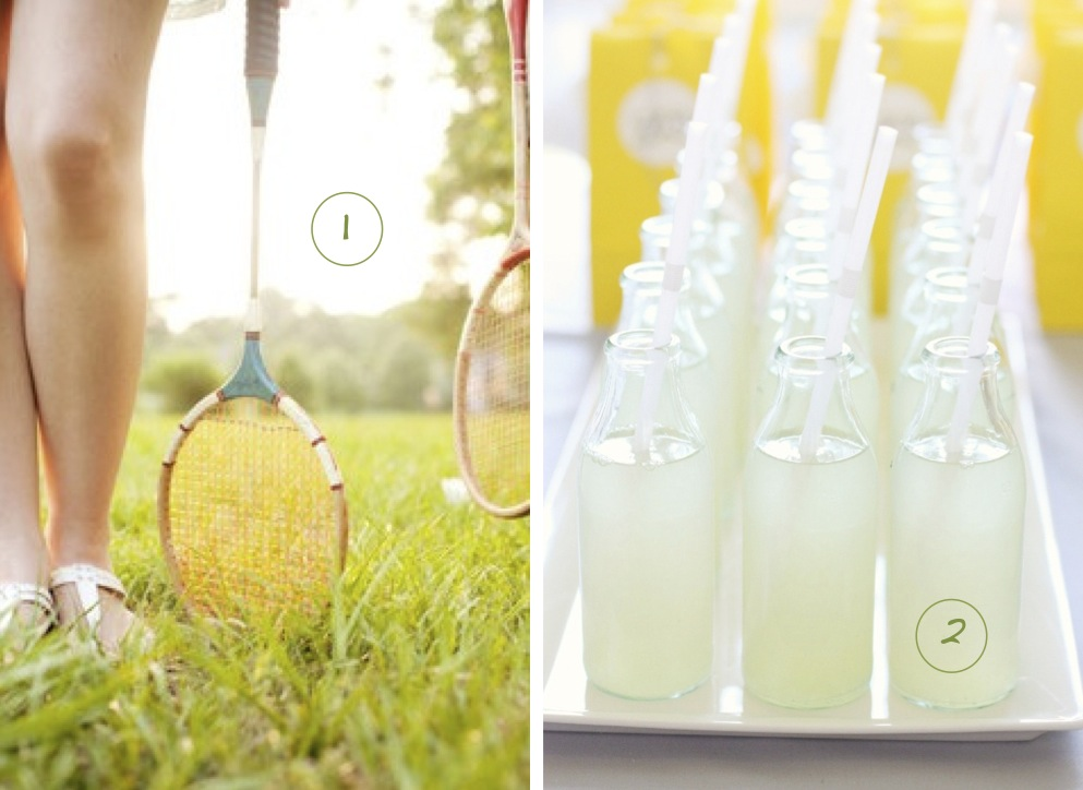 Badminton 2 Lemonade 3 Croquet 4 Homemade Popsicles 5 Mini Golf 6