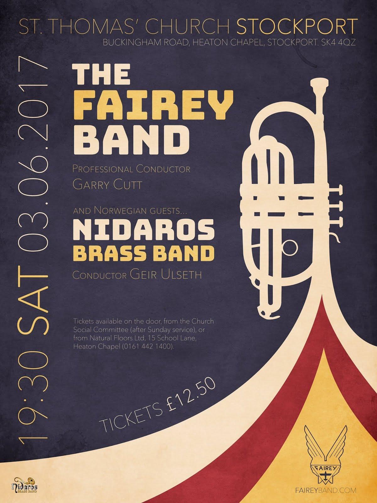 Joint Concert! Fairey Band/Nidaros Brass Band