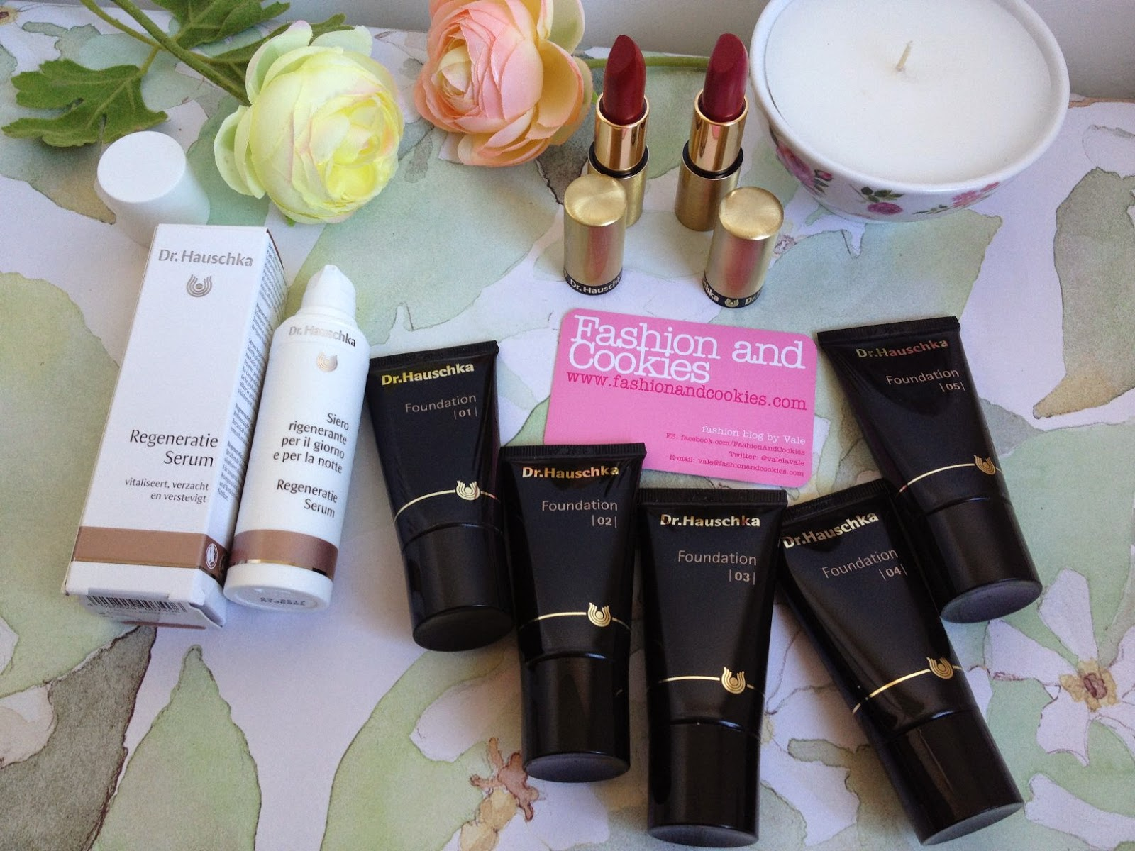 new Dr. Hauschka foundation, nuovo fondotinta Dr. Hauschka, Fashion and Cookies fashion blog, recensione fondotinta Dr. Hauschka, beauty blogger