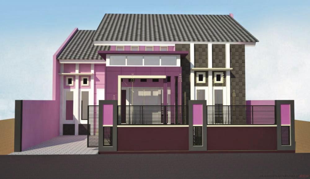 wallpaper model rumah minimalis