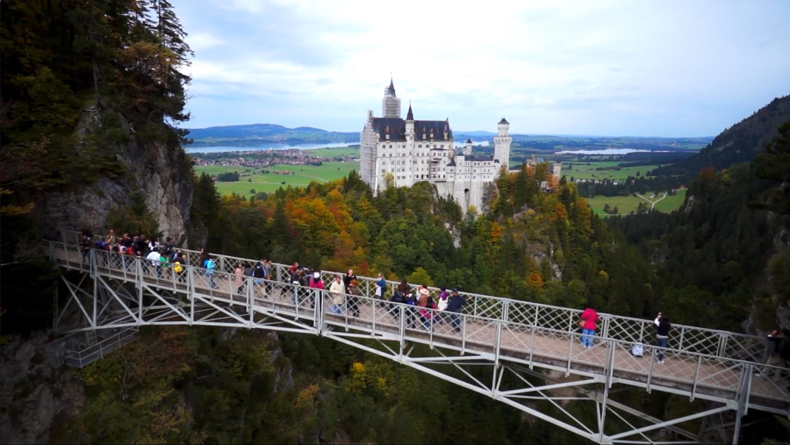 Neuschwanstein castle marienbr 252 cke