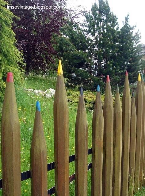 Arquitectura de casas jardines de casas - Vallas decorativas para jardin ...