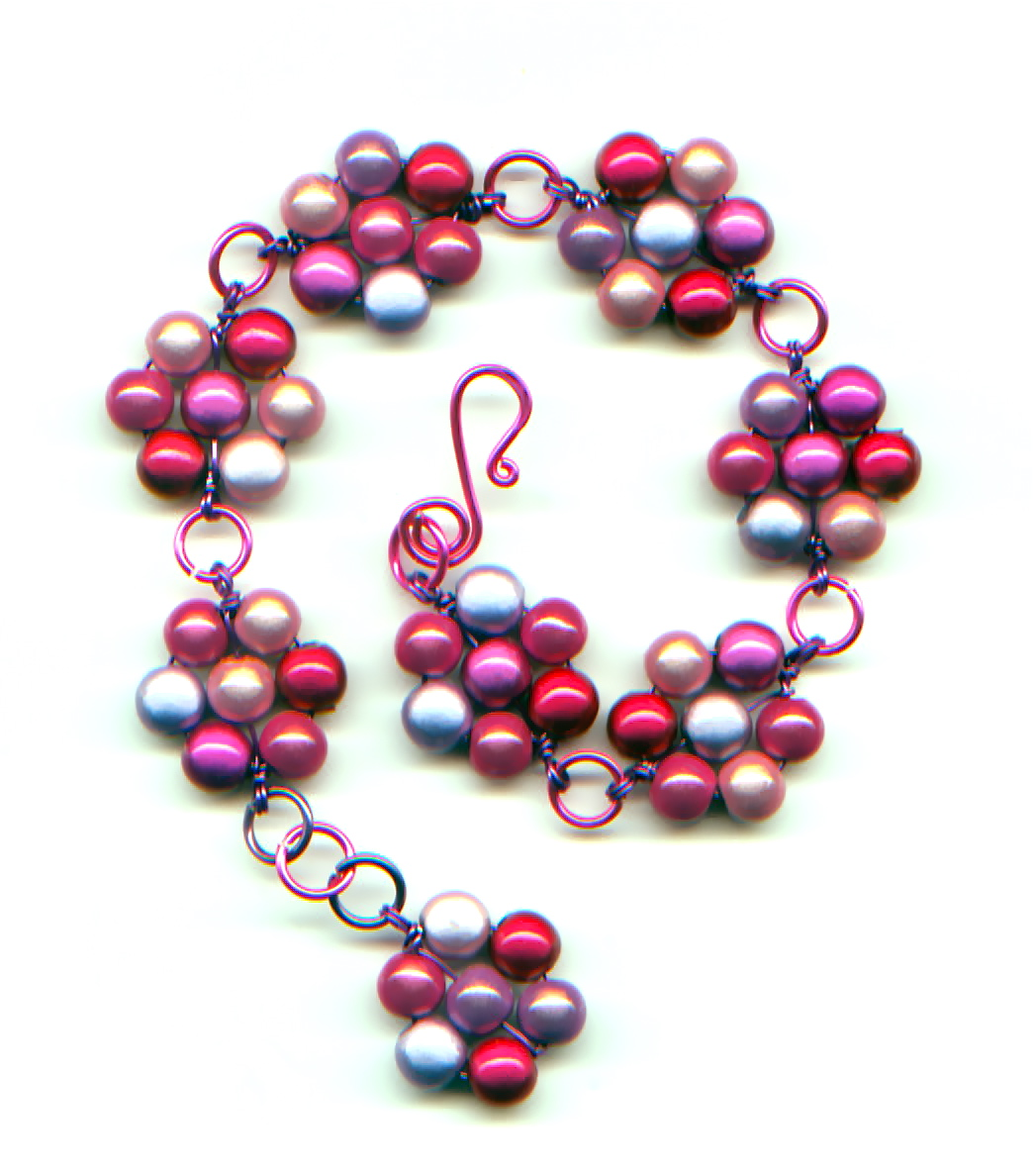 Wire Wrapped Daisy Chain Jewelry Tutorial ~ The Beading Gem\'s Journal