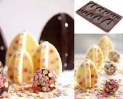 Huevos de Pascua con trufas trufas