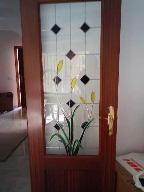El mundo de deza dyd decorar cristal puerta for Vidrios decorados para puertas interiores