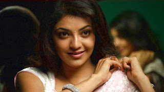 kajal agarwal in white saree 003.jpg
