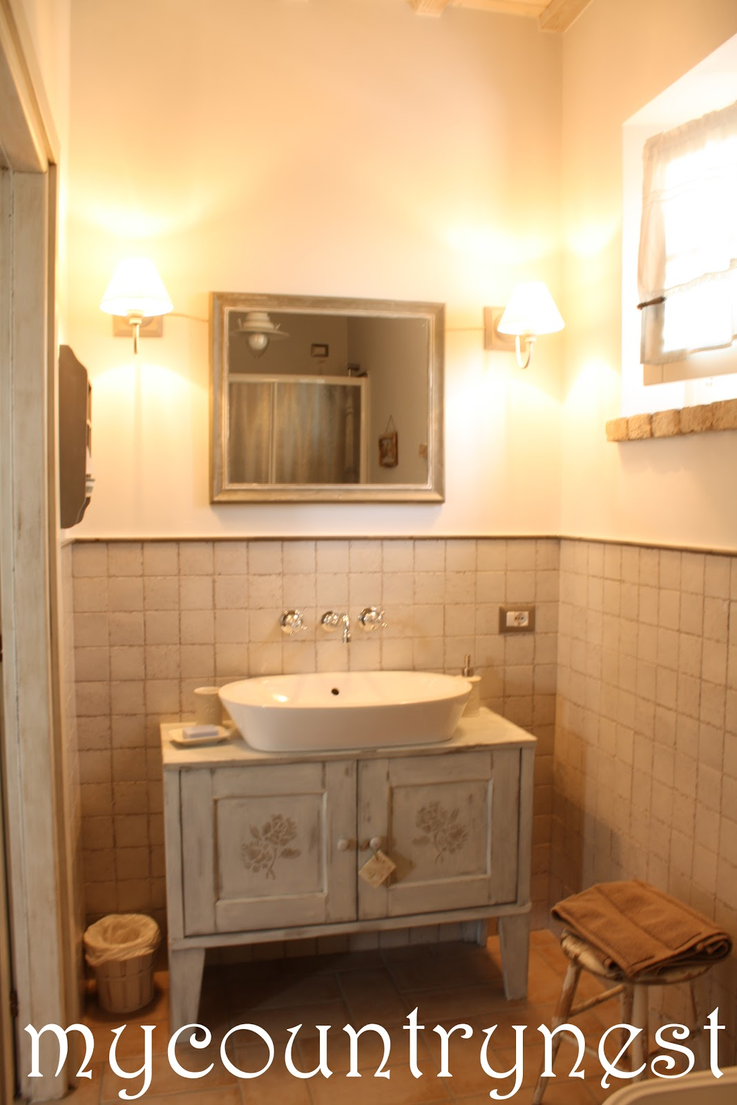 My country nest settembre 2012 - Bagno in francese ...