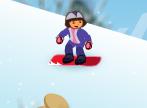 دورا وتزلج الثلج