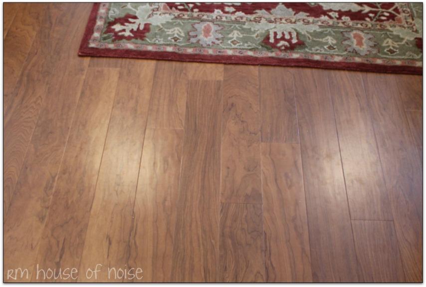 Living Room: New Floor