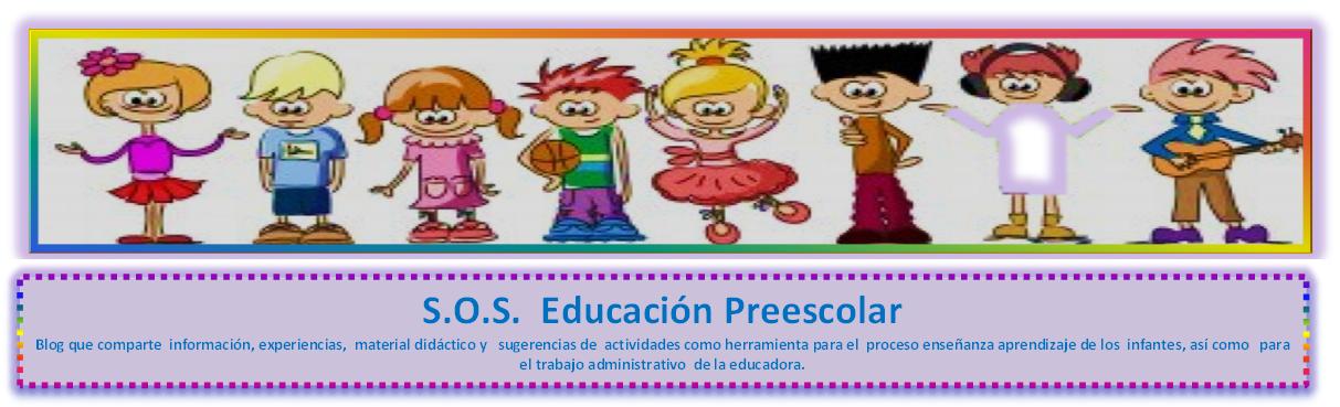 S.O.S. Educación Preescolar: Distintivos o Etiquetas para los ...
