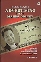 toko buku rahma: buku ADVERTISING MAKES MONEY, pengarang adji watono, penerbit gramedia