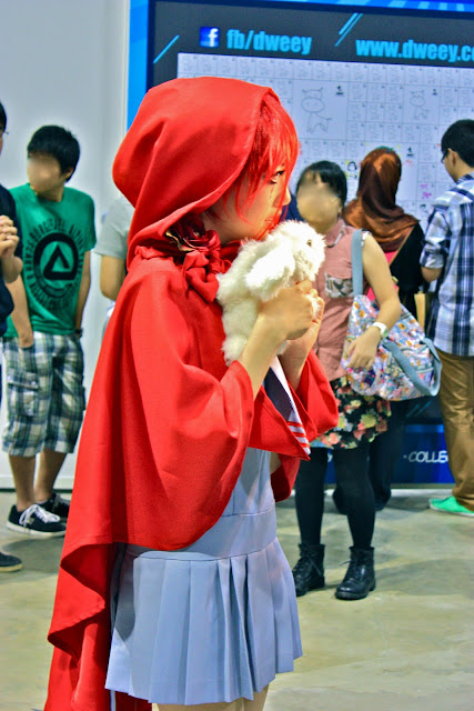 Cosplayers Singapore Toy Game and Comic Convention