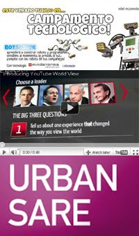 Campamento tecnologico infantil, Urban Sare, Nintendo Wii 2 y politica 2.0 en Youtube